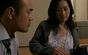 Japanese hot wife cheats  with neighbour when her economize is stationary
