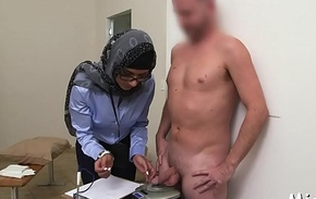 Cock-jerking executed fro arab style