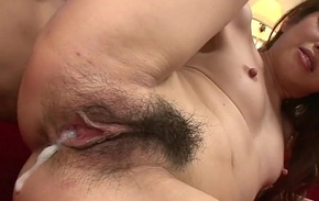 Three piping hot youthful bobtail enjoy hotheaded and screwing piping hot Reina Nishio