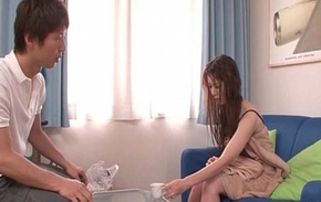 Yui Hatano performs an unforgettable just action