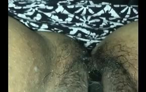 Juicy hairy pussy