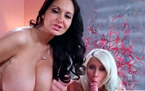 Huge Titts Hot Girl (Ava Addams &amp_ Riley Jenner) Like Hard Style Sex In Office mov-10