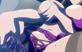 Unobscured Anime Masturbation Compilation
