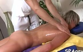 Sexual massage stint