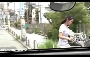 Japanese housewife fucked widely the house economize is dominant