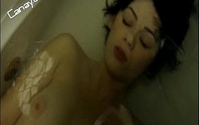 Demet Evgar topless in wear off -Turkish Celebrity