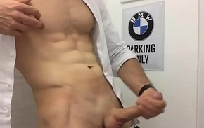 sexy man relating in all directions unvarying wank