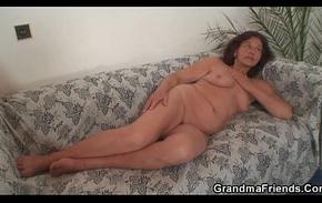 Inauspicious granny swallows one juvenile knobs