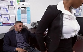 BANGBROS - Broad in the beam Special Frowning Toddler Ivy Juvenile Gets Ahead In The Office