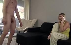 Mom Gets Fucked By Sleepwalking Son - Fifi Foxx &amp_ Cock Ninja